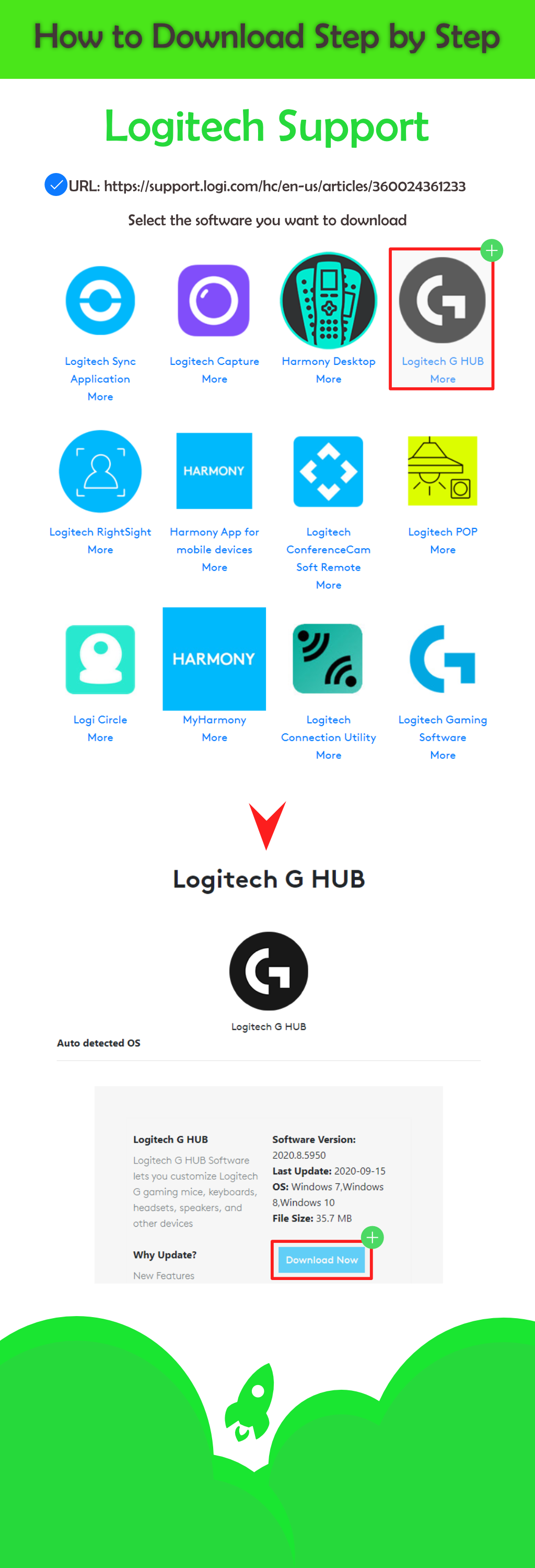 How to Download Logitech Software on the Official Website