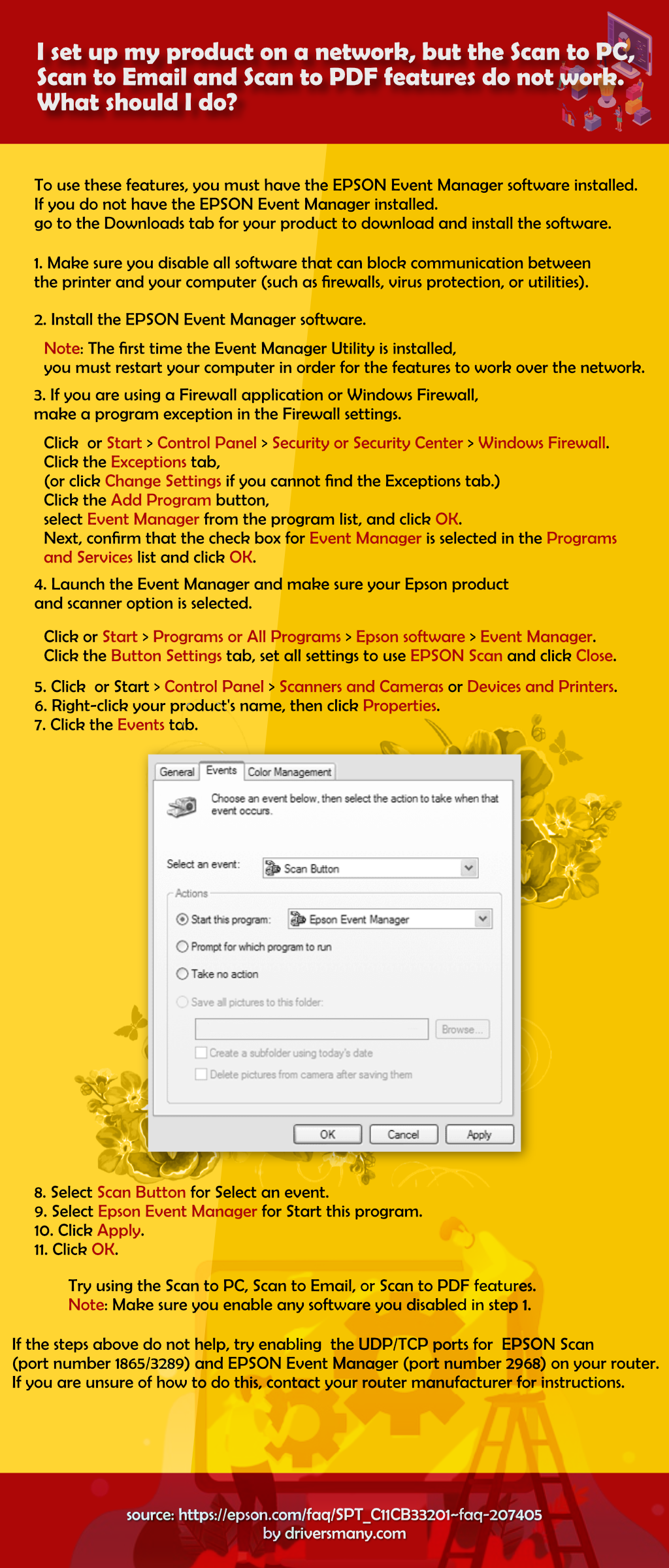 epson event manager software